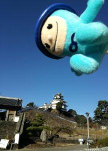 ②舞う掛川城