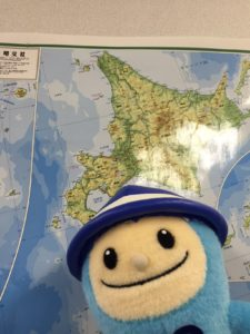 せいぞうくん&北海道地図